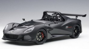 Matt black Lotus 3-Eleven with glossy accents AUTOart 75391 die-cast scale 1:18