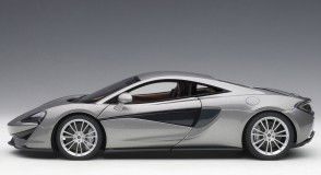 McLaren 570S blade silver w/silver wheels AUTOart Model 76043 die-cast scale 1:18