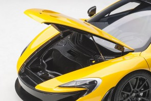 McLaren P1 Yellow Volcano die-cast model AUTOart 12242 scale 1:12