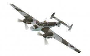 Messerschmitt Bf 110D Rudolf Hess Eaglesham, Scotland May 1941 Corgi CG38509 1:72