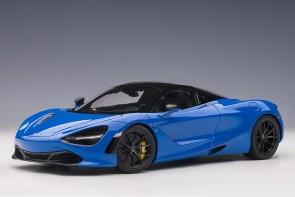 Metallic Blue 720S McLaren Paris Blue die-cast AUTOart model 76073 scale 1:18