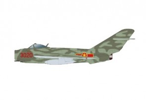 """MiG-17F Fresco C Le Hai, 923rd """"Yeh The"""" Fighter Rgt 14 June 1968 Hobby Master HA5908 scale 1:72"""