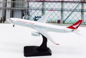 Misc Dgn Airbus A330-300 B-LBF with stand Aviation400 AV4102 scale 1:400