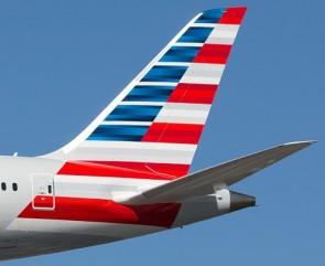 American 787-8 N800AN Dreamliner Wood Stand Skymarks SKR5088 1:200