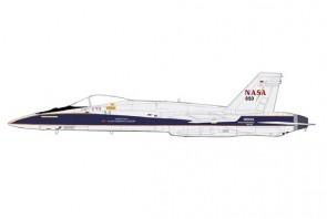 NASA F/A-18A Hornet N850NA California 2005 Armstrong Research Center Hobby Master HA3563W scale 1:72
