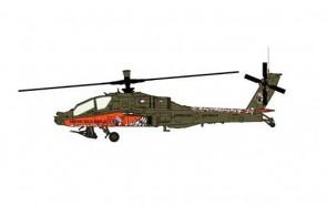 Netherlands AH-64D Apache Royal Netherlands Air Force 2010 Hobby Master HH1209 1:72