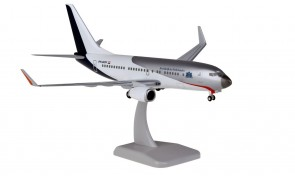 Netherlands Government Boeing 737-700 PH-GOV with stand and gears HG11601G scale 1:200