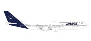 New 2018 livery Lufthansa 747-8 intercontinental D-ABYA Herpa 559188 scale 1-200