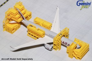 NEW! Aircraft Maintenance Scaffolding GJAMS1828 Gemini Jets Scale 1:400