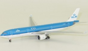 New at ezToys KLM Airbus A330-300 PH-AKE 100 Years Phoenix 11592 die-cast scale 1:400