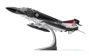 NEW MOULD! Royal Navy FG1  Phantom II F-4 007 No 892 HMS Ark Royal November 1978 Corgi AA27901 Scale 1-48 McDonnell Douglas with stand