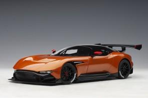 Orange Aston Martin Vulcan Madagascar Orange AUTOart 70264 die-cast scale 1:18