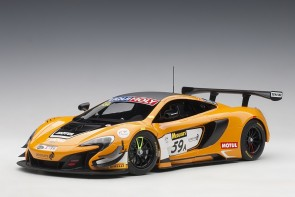 Orange McLaren 650S GT3 Bathurst 12 Hour Winner 2016 #59 81643 1:18