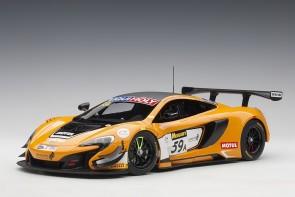 Orange McLaren 650S GT3 Bathurst 12 Hour Winner 2016 #59 81643 1:18