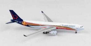 Brussels Airlines Airbus A330-300 Reg# OO-SFO Phoenix Diecast Models 11287 Scale 1:400