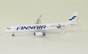 Finnair Airbus A321 Happy Holidays Reg# OH-LZL Phoenix 11426 Die-cast