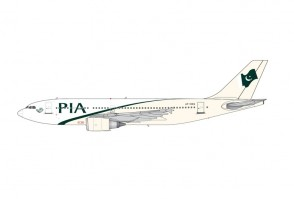 PIA Pakistan Airbus A310-300 AP-BEQ die-cast by JC Wings JC2PIA0001 scale 1:200