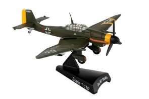 Ju87 Stuka Postage Stamp metallic model PS5339-4 scale 1:110