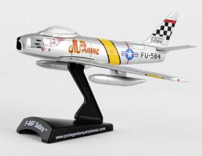 "F-86 Sabre ""Mig Mad Marine"" Postage Stamp PS5361-3 Scale 1:110"