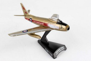RCAF Canadair F-86 Sabre Golden Hawks Postage Stamp PS5361-4 Scale 1:110
