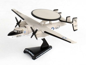 US Navy E-2C Hawkeye USS Kitty Hawk Die-Cast  PS5379-1 Scale 1:145