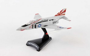 US Navy F-4B PhantomII Sundowners die cast Postage Stamp PS5384-3 Scale 1:155