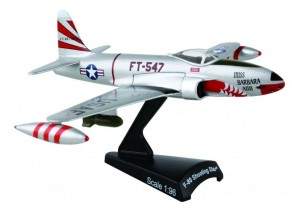 USAF F-80 Shooting Star die cast Postage Stamp PS5392-1 scale 1:80