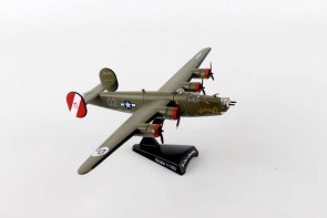 B-24 Liberator by Consolidated Aircraft Postage Stamp PS5557-3 Scale 1:163