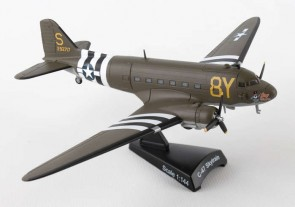 USAAF C-47 Skytrain Stoy Hora die cast Postage Stamp PS5558-2 Scale 1:144