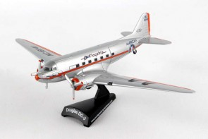 American DC-3 Flagship Tulsa by Postage Stamp PS5559-2 Scale 1:144