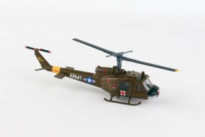 US Army UH-1 Helicopter Huey Medvac die cast Postage Stamp PS5601-2 Scale 1:87