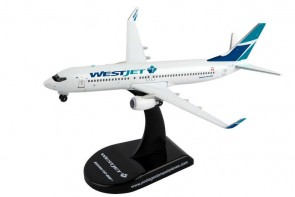 West Jet Boeing 737-800 Reg# C-FLBV PS5821 Postage Stamp PS5815-1 Scale 1:300