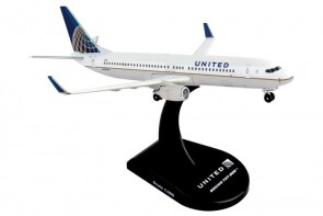 United Boeing 737-800 die-cast by Postage Stamp PS5815-4 scale 1:300
