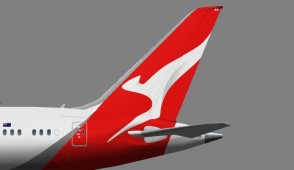 Qantas B787-9 Dreamliner Executive Series G54200 scale 1:100