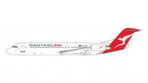 Qantas Link Fokker F-100 VH-NHP Gemini Jets GJQFA1696 scale 1:400