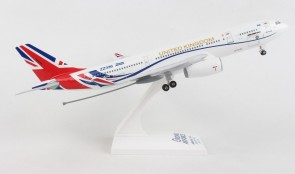 RAF Airbus A330-200 Voyager stand and gears Skymarks SKR1058  Scale 1200