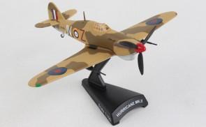 RAF Hawker Hurricane MK.II die-cast model by Postage Stamp PS5340-3 scale 1:100