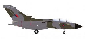 RAF Panavia Tornado GR.4 No 31 Squadron  Tornado Farewell Herpa 570503 Scale 1:200
