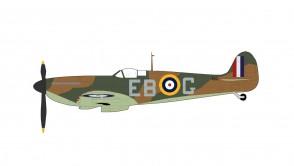 RAF Spitfire MK.1 No. 41 Squadron Hornchurch Eric Lock Essex UK 1940 Battle of Britain Hobby Master HA7815 scale 1:48