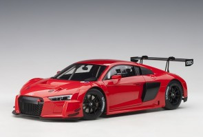 Red Audi R8 LMS Plain Color Version AUTOart 81601 die-cast scale 1:18