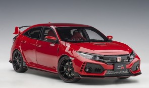 Red Honda Civic Type R (FK8) color flame red AUTOart 73268 scale 1:18