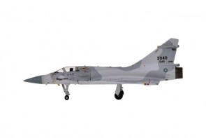ROCAF Mirage 2000 Tail 2040 China Air Force die-cast Hogan HG60555 scale 1:200