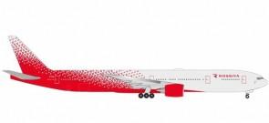 """Rossiya Boeing 777-300 Reg EI-UNL """"Sochi"""" Herpa 531481 scale 1:500"""