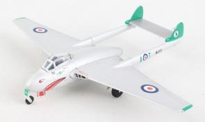 Royal Air Force De Havilland Vampire WA331 NO 112SQN FASSBERG die cast Herpa 580632 scale 1:72