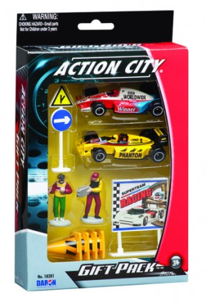 10 Piece Action City Racing Gift Set RT38941R
