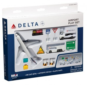 Delta Airlines Airport Play Set RT4991