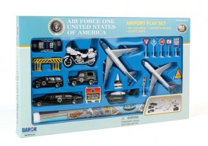 Air Force One United States of America Airport Play Set RT5732