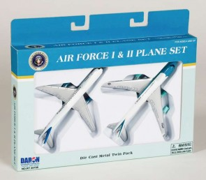 Air Force I & II Plane Set Die Cast Metal Twin Pack RT5733