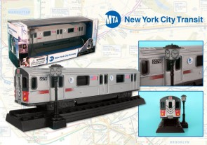 Metropolitan Transit Authority (MTA) New York City Transit Diecast Subway Car RT8555
