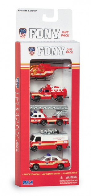 Fire Department of New York (FDNY) 5 Piece Gift Set RT8750